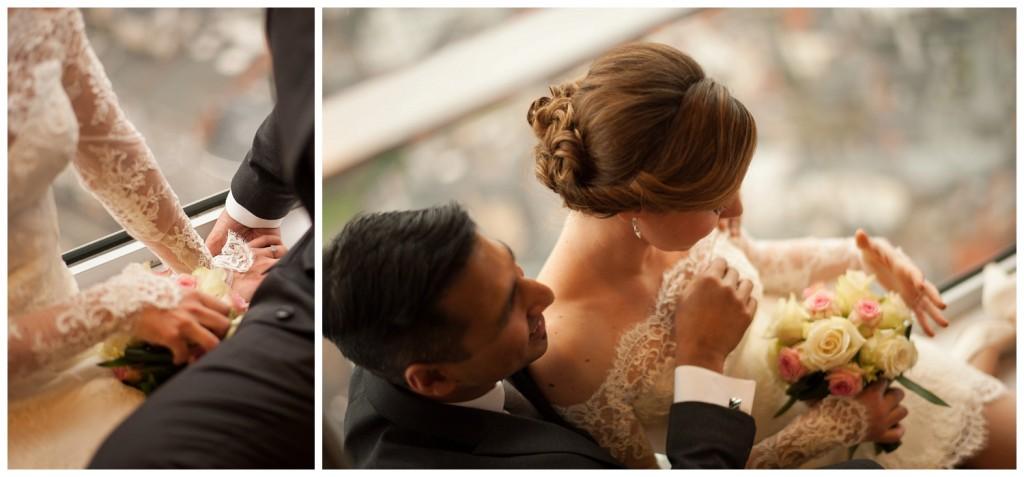 Huwelijksfotografie Antwerpen KBC toren fotoshoot