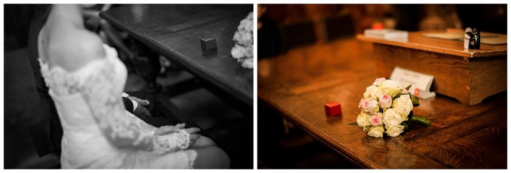 Huwelijksfotografie Antwerpen stadshuis ceremonie ringen