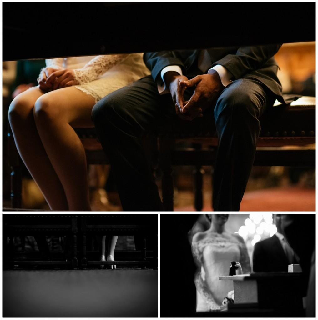 Huwelijksfotografie Antwerpen stadshuis ceremonie tafel schoenen