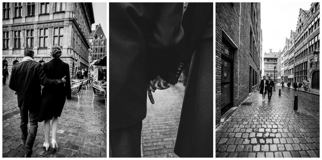 Huwelijksfotografie Antwerpen Grote Markt receptie