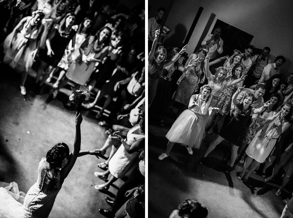 trouwfotograaf, huwelijk, boeket gooien, single vrouwen, catch the bouquet