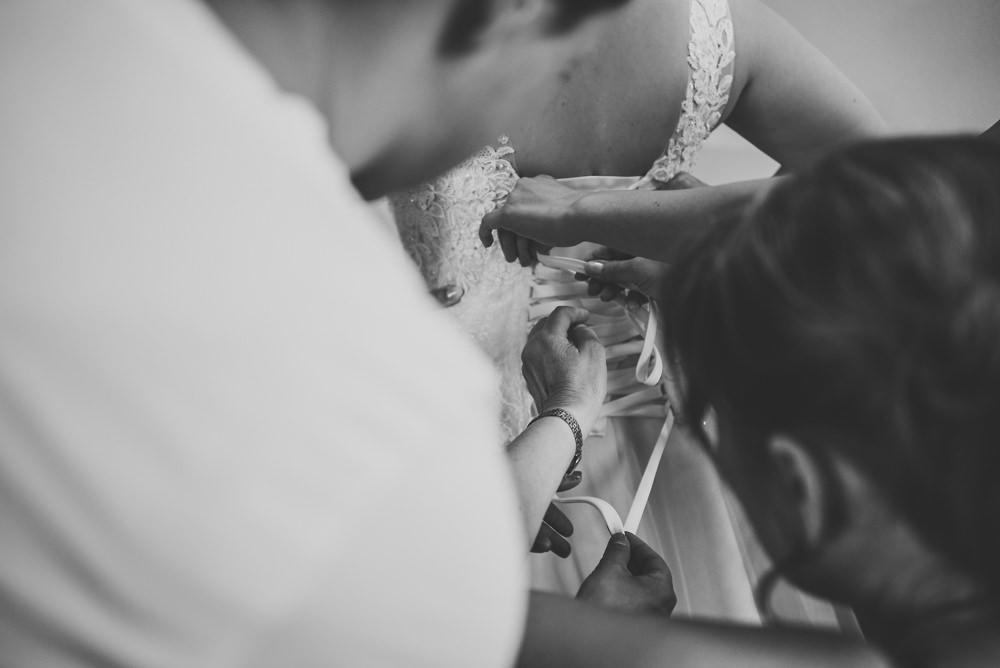 trouwfotograaf, nederland, putten, kasteel de essenburgh, bruidspaar, dochter